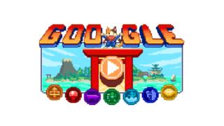 グーグルのロゴのゲーム
