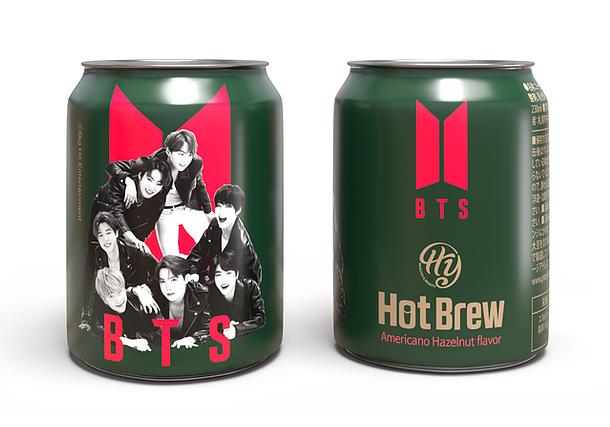 BTS缶コーヒー